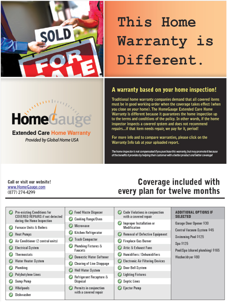 Homegauge Home Warranty Home Review